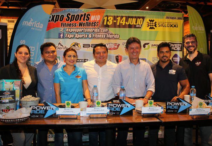 La Expo Sports & Fitness Mérida se realizará el próximo fin de semana en el Salón Chichén Itzá del Centro de Convenciones Siglo XXI.
