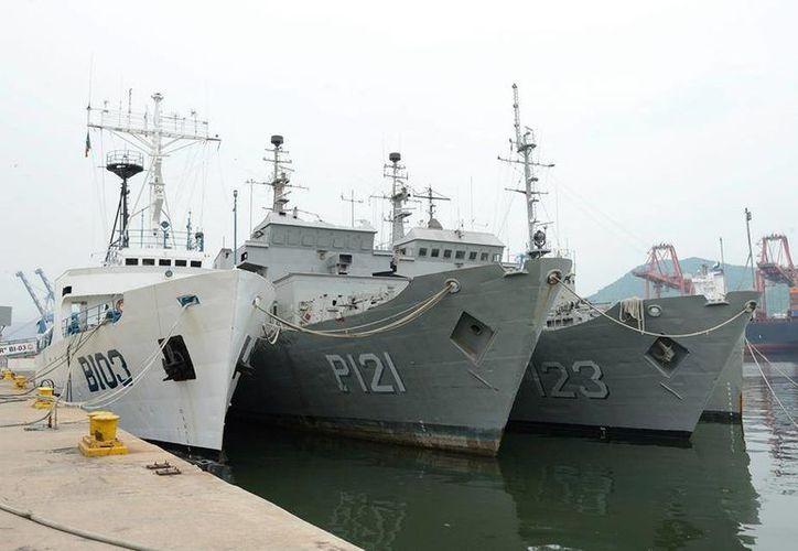La patrulla oceánica Uribe 121, donada por la Marina, formará parte del Parque Submarino de Rosarito. (rosaritooceansports.com)