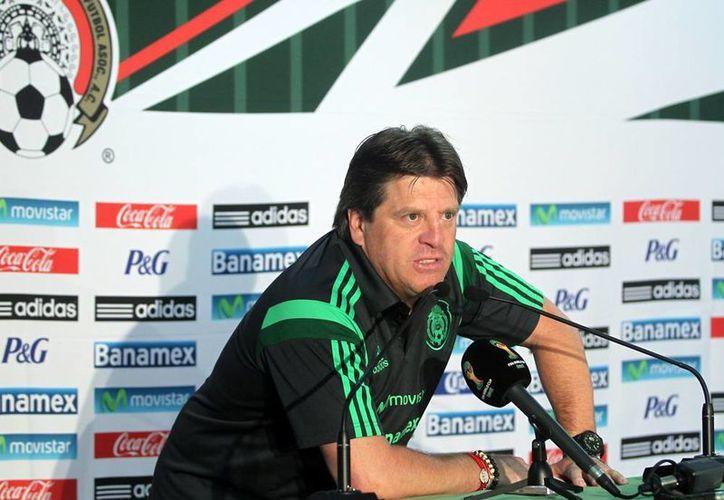 Miguel Herrera calificó de buen examen el encuentro con Holanda, en un nuevo episodio desde el vivido en la Copa del Mundo Brasil 2014. (Notimex)