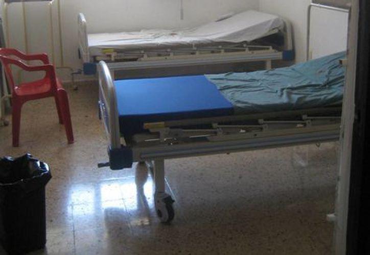 El cuarto de curaciones atenderá lesiones menores. (Lanrry Parra/SIPSE)