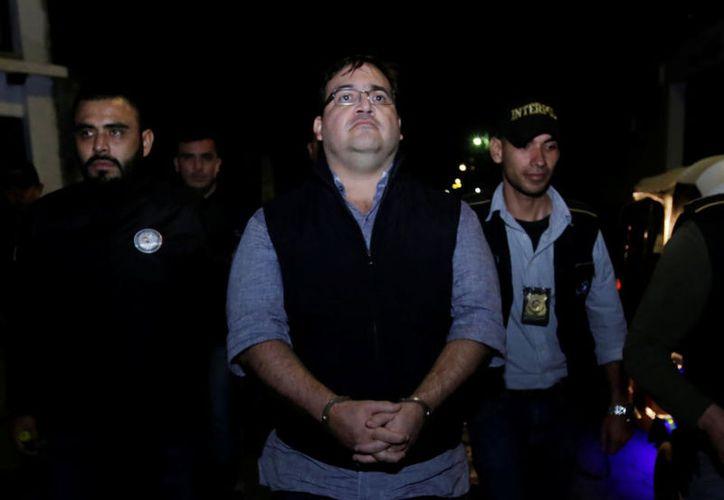 El exmandatario de Veracruz fue detenido ayer en el hotel La Riviera de Atitlán, en Guatemala. (Foto: Contexto/Internet)