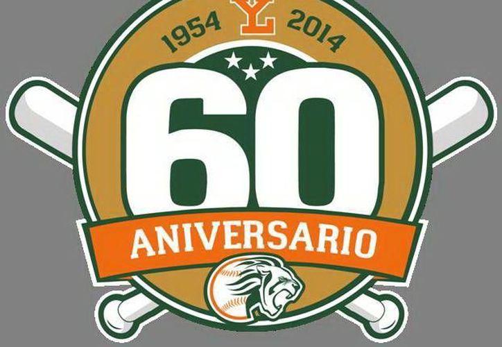 Este logotipo forma parte de los cambios que verán los seguidores de Leones de Yucatán, que cumplen 60 años de fundación. (Milenio Novedades)