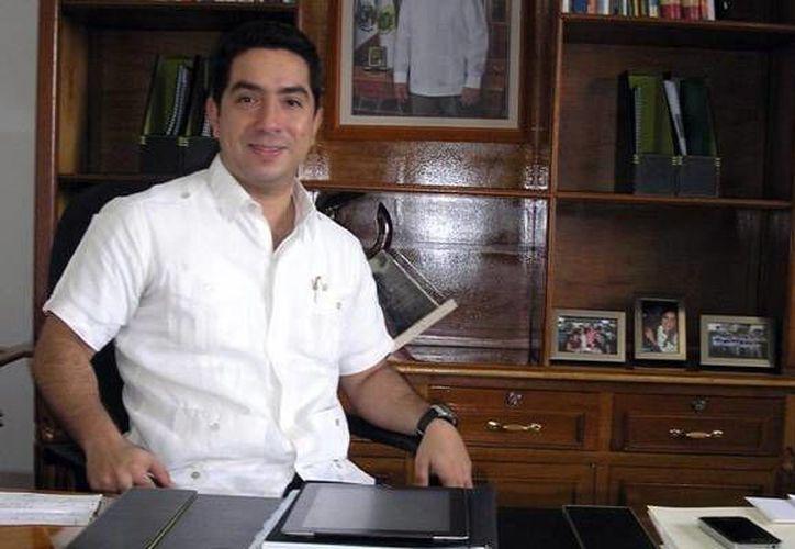 Luis Borjas, delegado de Sedesol, destacó las bondades del programa federal Prospera, antes Oportunidades. (Milenio Novedades)