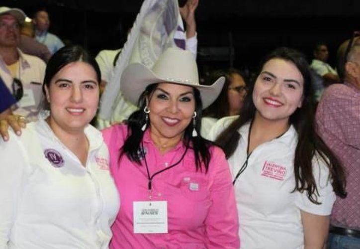 Valentina Treviño, candidata independiente en Nuevo León (Foto: La Silla Rota)