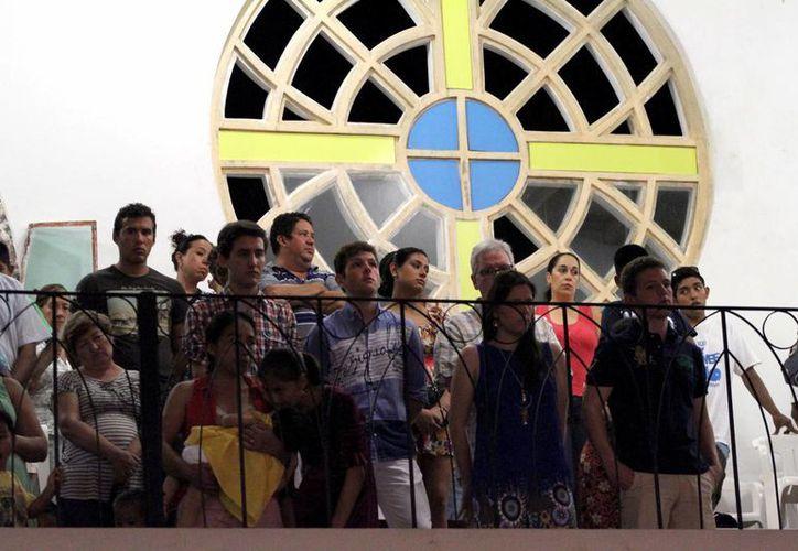 Actualmente el padrón de centros de culto que hay en el municipio incluye a 196.  (Octavio Martínez/SIPSE)