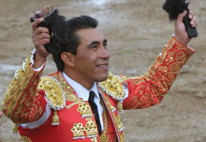 El torero mexicano Eulalio López 'Zotoluco' subrayó que tiene su propia fundación altruista, pero también ayuda a otras y esta vez él participará en un festival sobre el autismo. (EFE)