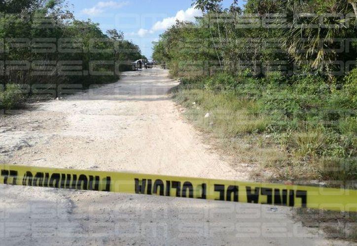 El hallazgo del cuerpo se registró en el poblado Alfredo V. Bonfil, detrás del Hotel Cerezas. (SIPSE)