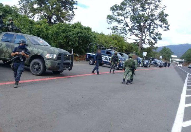 'El Chanda' es señalado como líder de una organización criminal en Úspero, Parácuaro; Antúnez, Apatzingán, y Buenavista.Foto: Twitter @MICHOACANSSP