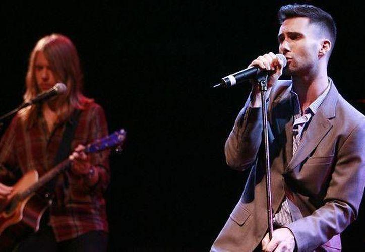 Maroon 5 ofrecerá una mini gira en el país. En Guadalajara se presentará el 25 febrero; en Monterrey, el 26 y en el Distrito Federal, 29 de febrero y 1 de marzo. (Archivo AP)