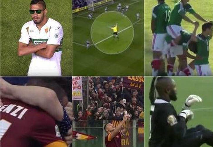 En un video publicado en internet, se hizo un Top 15 con los mejores momentos tras un gol en todas las canchas del mundo. (Milenio Digital)