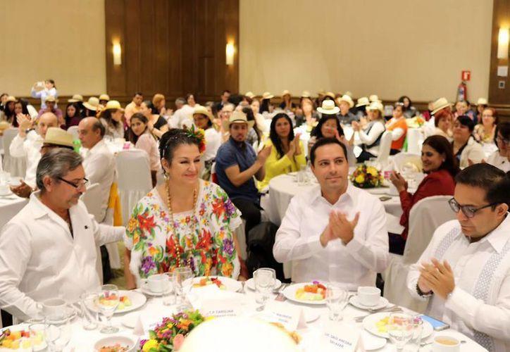 El alcalde de Mérida, Mauricio Vila, encabezó este jueves en Guadalajara el Mérida Trade Show 2017. (Foto cortesía del Ayuntamiento)