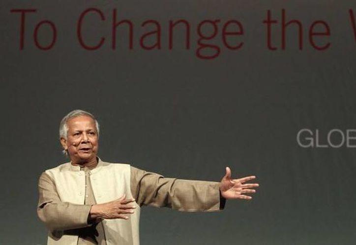 El premio Nobel de la Paz, Muhammad Yunus es el organizador del GSBS. (yunuscenter.ait.asia)