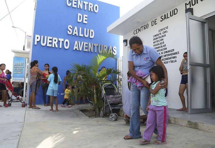 Actualmente se está equipando el nuevo Centro de Salud en el fraccionamiento El Petén. (Redacción/SIPSE)