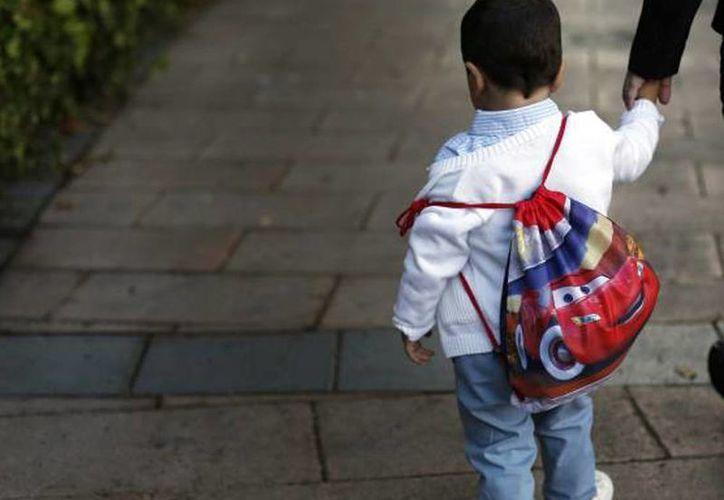 El secuestro del niño ocurrió ayer cuando era llevado a la escuela primaria Emiliano Zapata, en Chiapas. (Foto de contexto/elpais.com)
