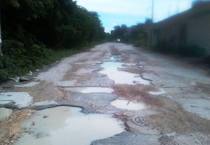 Algunos lugares carecen todavía de infraestructura moderna. (Rossy López/SIPSE)