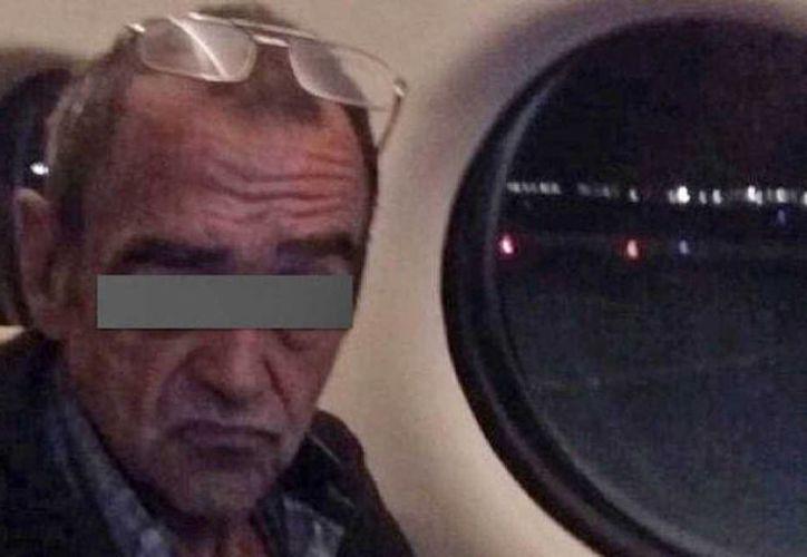 Imagen del etarra Ángel María Tellería Uriarte detenido en León Guanajuato. El hombre fue reclamado por España por su presunta participación en un atentado. (Fotografía cedida por la PGR)
