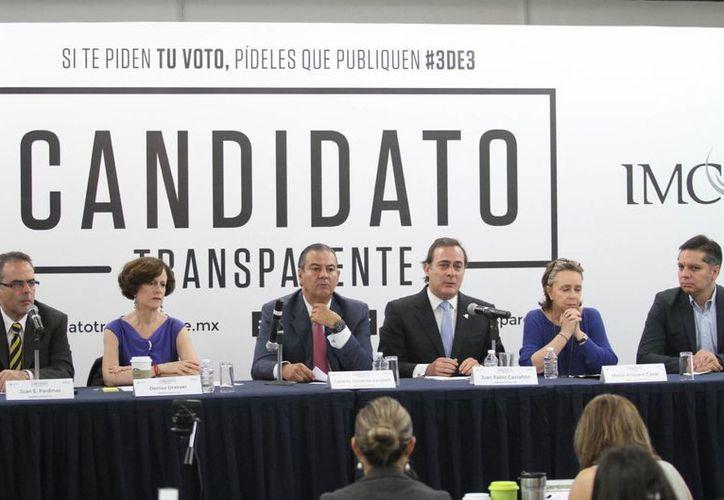 """La plataforma Candidato Transparente busca también hacer frente al movimiento """"anulista"""" y """"abstencionista"""". (Notimex)"""