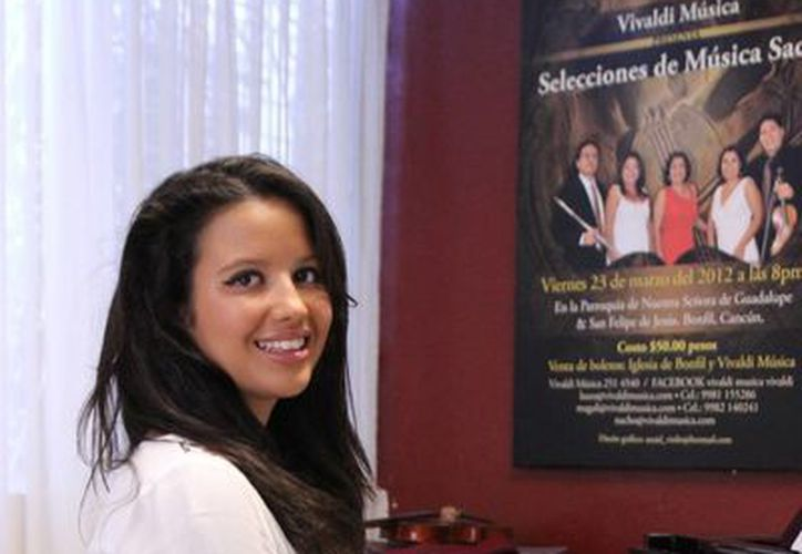 """Ciara Mullarky, de 17 años, pasará el verano en la """"Manhattan School of Music"""", en Nueva York. (Redacción/SIPSE)"""