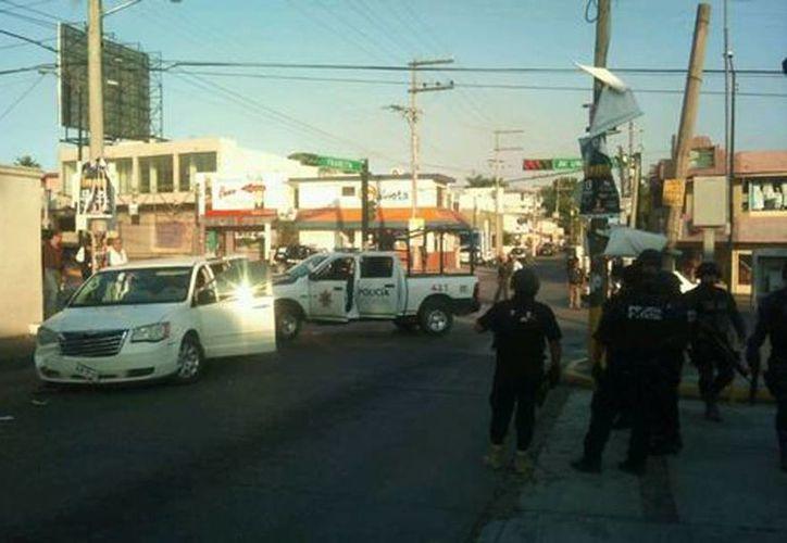 Autoridades de Tamaulipas confirmaron los enfrentamientos entre miembros de las fuerzas federales  y presuntos sicarios. (Noel Vergara/Milenio)