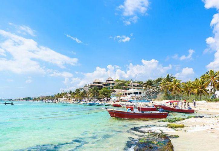 Playa del Carmen se mantiene como el destino preferido de turistas extranjeros. (Foto: Internet)