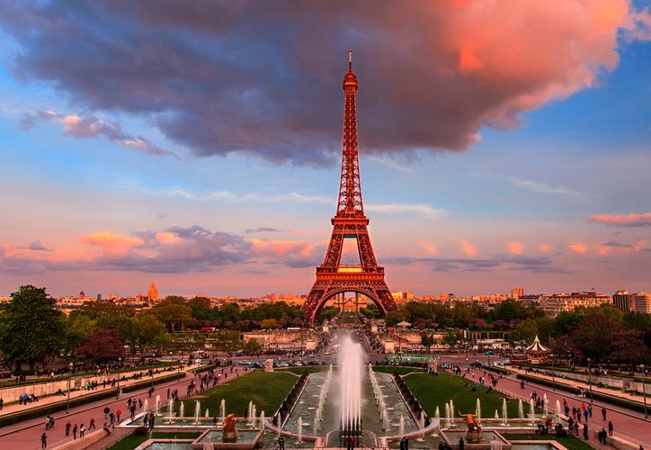 La bella y enigmática capital francesa, goza del mejor prestigio en cuanto al romance. (Shutterstock)