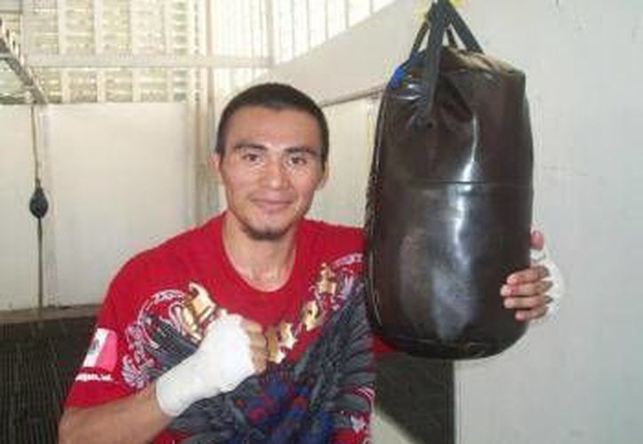 El vallisoletano Aarón 'La Joya' Herrera (foto) peleará contra Jorge 'Maromerito' Páez como parte de la función de Max Boxing. (Milenio Novedades)