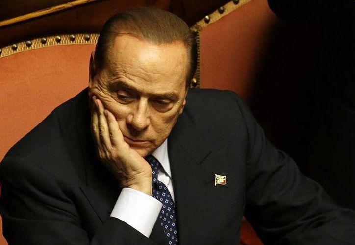 Imagen de abril de 2013 del ex primer ministro de Italia, Silvio Berlusconi. (Archivo/AP)