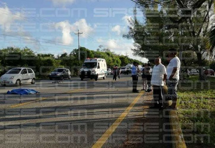 Se reporta exceso de tráfico en la zona, por lo que se recomienda circular por precaución. (Ángel Euán/ SIPSE)