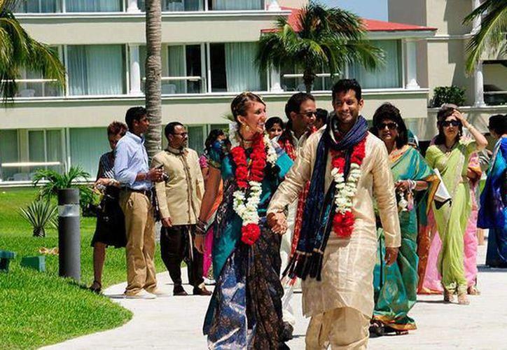 El mercado hindú empieza a crecer en el destino turístico, con eventos comerciales hasta bodas. (Foto/Internet)