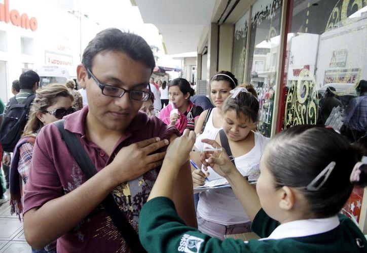 Aplicarán 400 mil vacunas contra la influenza en la entidad. (Christian Ayala/SIPSE)