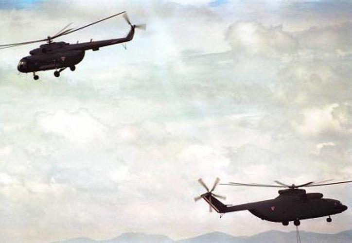 El helicóptero se adentró en el norte de Arizona durante un operativo contra la droga. (Imagen de contexto/elfinanciero.com.mx)