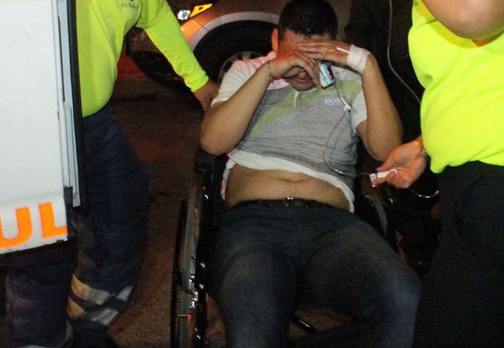 """""""El Fayo"""" salió lesionado en un hecho delictivo la noche del pasado lunes. (Redacción/SIPSE)"""