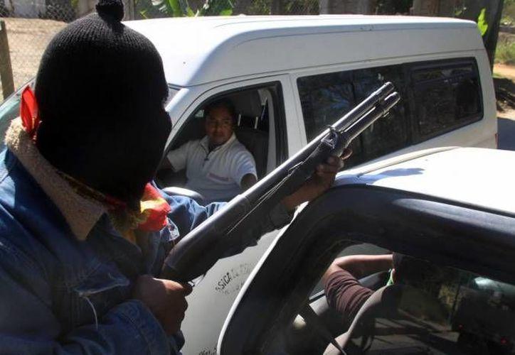 Peña Nieto insistió en que no se tolerará a esos grupos. (Archivo/Notimex)