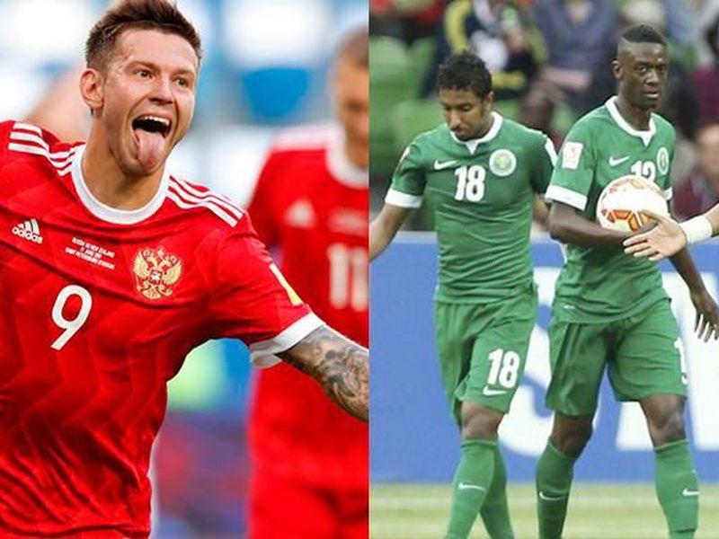 La débil anfitriona Rusia y la aún más débil Arabia Saudita inauguran esta mañana el Mundial 2018 (Foto: larepublica.pe)