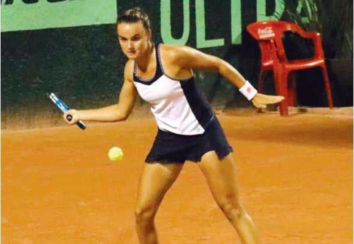 La francesa Clara Burel es una de las favoritas para llevarse el torneo. (Fotos: José Acosta)