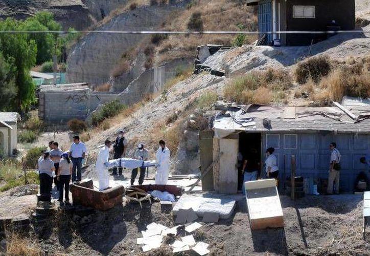 """El Gobierno mexicano señalaba a """"Los Zetas"""" como responsables de la matanza. (Archivo)"""