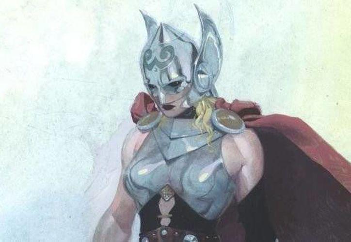 La versión femenina de Thor se vería así. (Fotografía: AP)