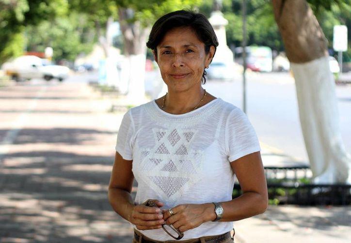 'Una de las bases más importantes de Evolución A. C es informar y educar para generar un cambio de conciencia', dijo la arquitecta Silvia Cortés Castillo. (Milenio Novedades)