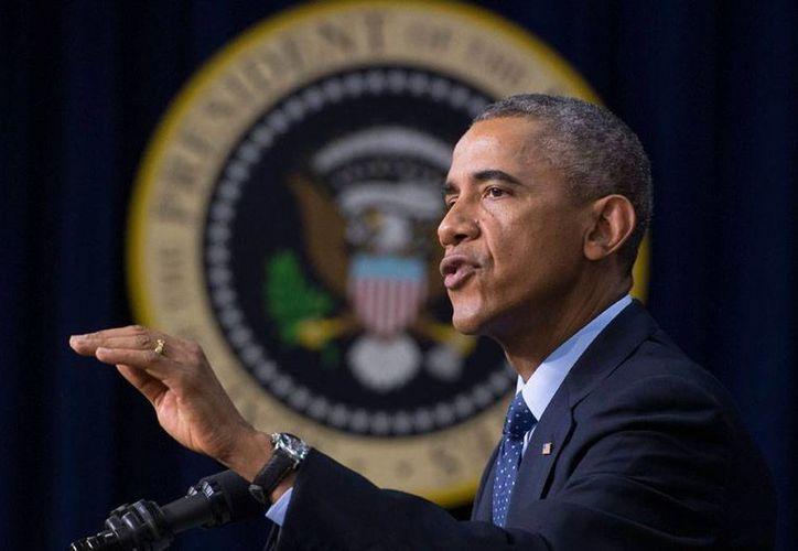 El presidente de EU, Barcak Obama, insistió este sábado en lo que pidió durante su discurso en la ONU: combatir al EI y ébola como las principales amenazas para el mundo. (Archivo/Efe)