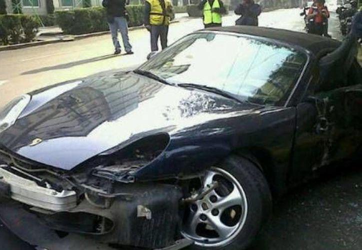 Al parecer alcoholizada, Dalia Ortega arrolló a bordo de un Porsche a un peatón. (SIPSE/Archivo)