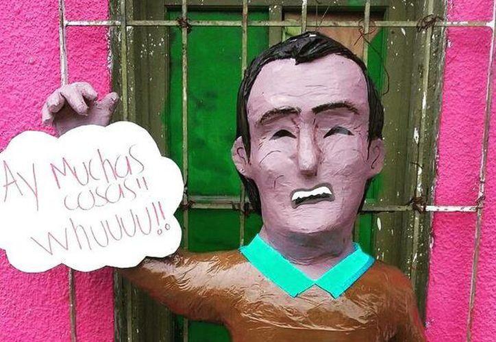 La piñatería Ramírez de Reynosa se ha caracterizado por realizar parodias de los personajes de moda.(Foto tomada de Facebook/Piñatería Ramírez)
