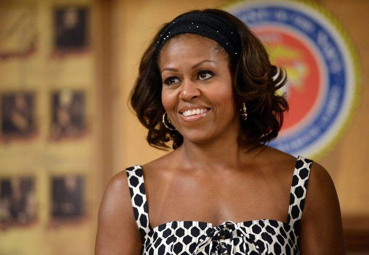 Michelle Obama, primera dama de EU, cumple 50 años. (Internet)