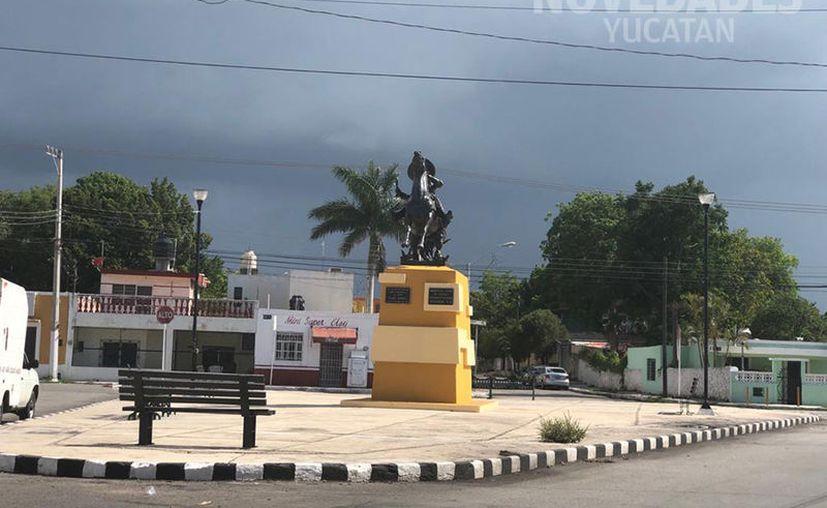 Tormentas eléctricas acompañadas de turbonadas y granizo se pronostican para esta tarde en Yucatán. (Novedades Yucatán)