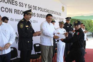 Nuevos policías se integran a la SSP de Yucatán