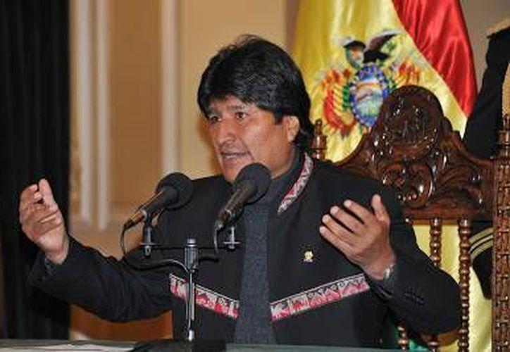 Evo Morales no tiene cuenta de Twitter ni utiliza las redes sociales. (Notimex)