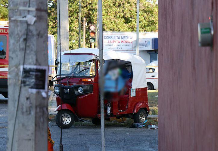 En días pasados, una mujer perdió la vida en un accidente de tránsito en el que se vio involucrado un mototaxi. (SIPSE)
