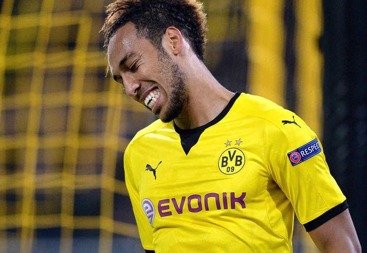 Pierre-Emerick Aubameyang, juega como delantero en el Borussia Dortmund, de la Bundesliga. (Contexto/ Internet)