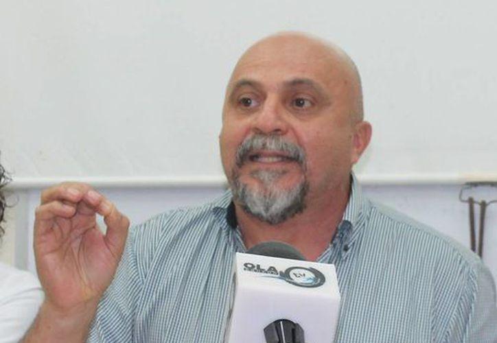 Antonio Cervera León, presidente de la Comisión Revisora del Implan. (Hugo Zúñiga/SIPSE)