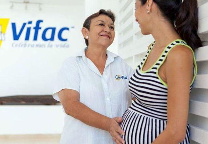 Mujeres en situación de vulnerabilidad tienen en Vifac un punto de apoyo. (Milenio Novedades)