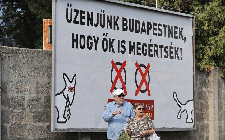 Hungría espera que otros países de Europa del Este desafíen la imposición de la Unión Europea sobre el reparto de inmigrantes en el continente. (AP/Vadim Ghirda)